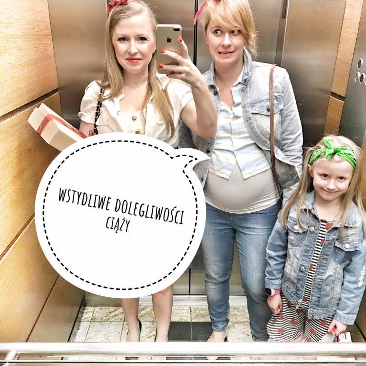 Kolejne wstydliwe dolegliwości ciążowe