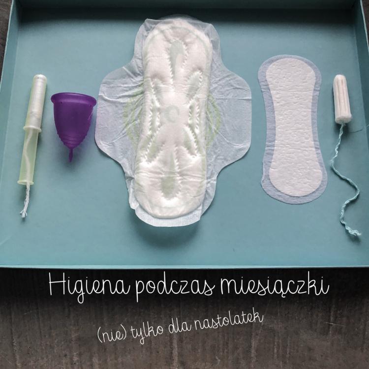 Higiena podczas miesiączki dla nastolatek